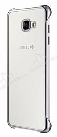 Eiroo Color Thin Samsung Galaxy A7 2016 Silver Rubber Kılıf