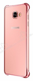 Eiroo Color Thin Samsung Galaxy A7 2016 Rose Gold Rubber Kılıf