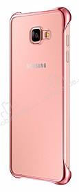 Eiroo Color Thin Samsung Galaxy A7 2016 Rose Gold Rubber Kılıf