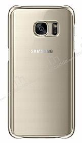 Eiroo Color Thin Samsung Galaxy S7 Gold Rubber Kılıf