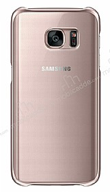 Eiroo Color Thin Samsung Galaxy S7 Rose Gold Rubber Kılıf