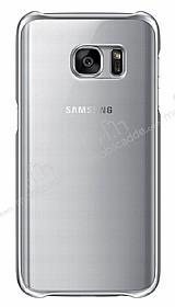 Eiroo Color Thin Samsung Galaxy S7 Silver Rubber Kılıf