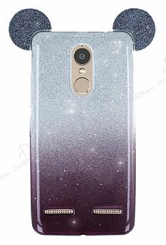 Eiroo Ear Sheenful Lenovo K6 Siyah Silikon Kılıf