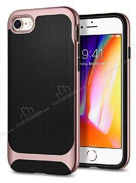 Eiroo Efficient iPhone 7 / 8 Rose Gold Kenarlı Ultra Koruma Kılıf