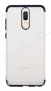 Eiroo Frosty Huawei Mate 10 Lite Kenarlı Siyah Silikon Kılıf