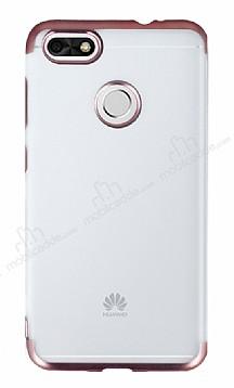 Eiroo Frosty Huawei P9 Lite Mini Rose Gold Kenarlı Silikon Kılıf