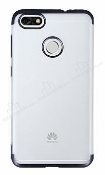 Eiroo Frosty Huawei P9 Lite Mini Siyah Kenarlı Silikon Kılıf