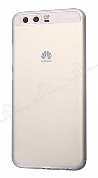 Eiroo Ghost Thin Huawei P10 Plus Ultra İnce Şeffaf Beyaz Rubber Kılıf