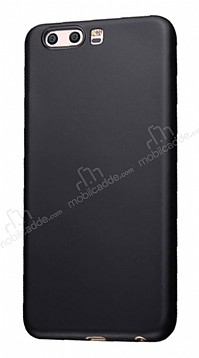 Eiroo Ghost Thin Huawei P10 Plus Ultra İnce Siyah Rubber Kılıf