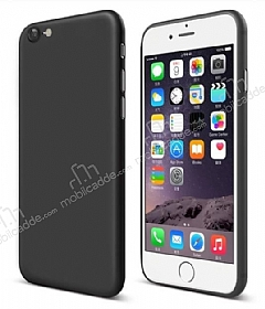 Eiroo Ghost Thin iPhone 6 / 6S Ultra İnce Siyah Rubber Kılıf