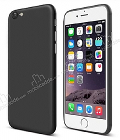 Eiroo Ghost Thin iPhone 6 Plus / 6S Plus Ultra İnce Siyah Rubber Kılıf