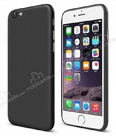 Eiroo Ghost Thin iPhone 6 Plus / 6S Plus Ultra İnce Siyah Rubber Kılıf