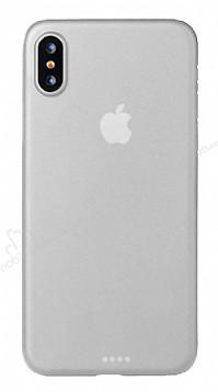 Eiroo Ghost Thin iPhone X Ultra İnce Şeffaf Rubber Kılıf
