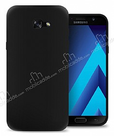 Eiroo Ghost Thin Samsung Galaxy A5 2017 Ultra İnce Siyah Rubber Kılıf