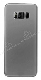 Eiroo Ghost Thin Samsung Galaxy S8 Plus Ultra İnce Şeffaf Siyah Rubber Kılıf