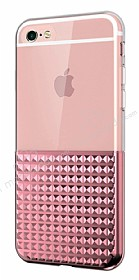 Eiroo Half Glare iPhone 6 Plus / 6S Plus Rose Gold Silikon Kılıf