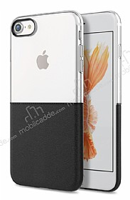 Eiroo Half to Life iPhone 6 / 6S Siyah Silikon Kılıf