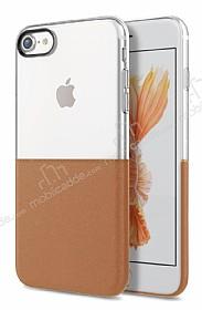 Eiroo Half to Life iPhone 6 Plus / 6S Plus Kahverengi Silikon Kılıf