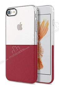 Eiroo Half to Life iPhone 6 Plus / 6S Plus Bordo Silikon Kılıf