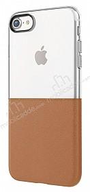 Eiroo Half to Life iPhone 7 / 8 Kahverengi Silikon Kılıf