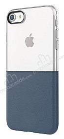 Eiroo Half to Life iPhone 7 / 8 Lacivert Silikon Kılıf