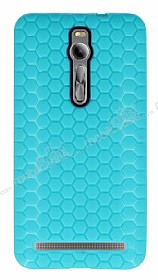 Eiroo Honeycomb Asus Zenfone 2 Su Yeşili Silikon Kılıf
