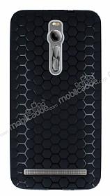 Eiroo Honeycomb Asus Zenfone 2 Siyah Silikon Kılıf
