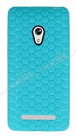 Eiroo Honeycomb Asus Zenfone 5 Su Yeşili Silikon Kılıf