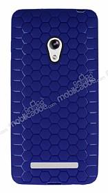 Eiroo Honeycomb Asus Zenfone 5 Lacivert Silikon Kılıf