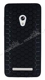 Eiroo Honeycomb Asus Zenfone 5 Siyah Silikon Kılıf