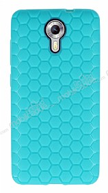Eiroo Honeycomb General Mobile Android One Su Ye�ili Silikon K�l�f