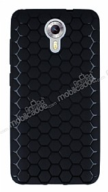 Eiroo Honeycomb General Mobile Android One Siyah Silikon K�l�f