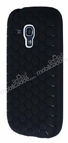 Eiroo Honeycomb Samsung i8190 Galaxy S3 Mini Siyah Silikon Kılıf