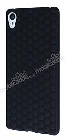 Eiroo Honeycomb Sony Xperia Z3 Plus Siyah Silikon Kılıf