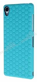 Eiroo Honeycomb Sony Xperia Z3 Su Yeşili Silikon Kılıf