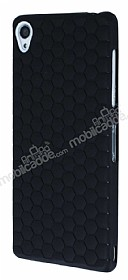 Eiroo Honeycomb Sony Xperia Z3 Siyah Silikon Kılıf