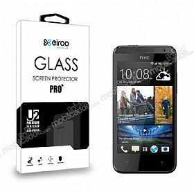 Eiroo HTC Desire 300 Tempered Glass Cam Ekran Koruyucu