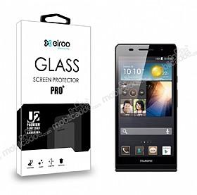 Eiroo Huawei Ascend P6 Tempered Glass Cam Ekran Koruyucu