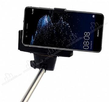 Eiroo Huawei P10 Plus Bluetooth Tuşlu Selfie Çubuğu