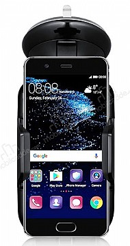 Eiroo Huawei P10 Siyah Araç Tutucu