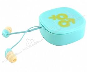 Eiroo İnfinity Mikrofonlu Kulakiçi Mavi Kulaklık