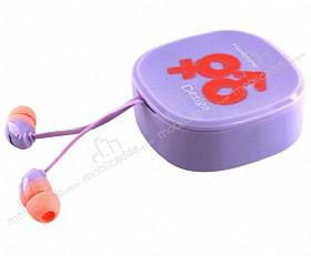 Eiroo İnfinity Mikrofonlu Kulakiçi Mor Kulaklık