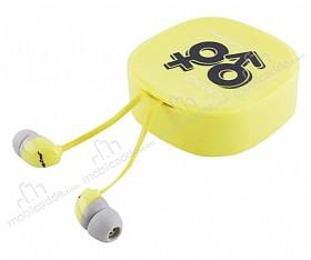 Eiroo İnfinity Mikrofonlu Kulakiçi Sarı Kulaklık