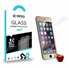 Eiroo iPhone 6 / 6S Tempered Glass Ayna Gold Cam Ekran Koruyucu