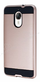 Eiroo Iron Shield General Mobile GM5 Plus Ultra Koruma Rose Gold Kılıf