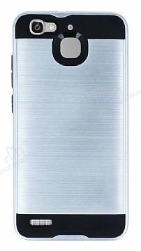 Eiroo Iron Shield Huawei GR3 Ultra Koruma Silver Kılıf