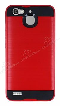 Eiroo Iron Shield Huawei GR3 Ultra Koruma Kırmızı Kılıf