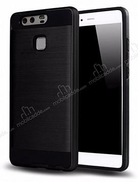 Eiroo Iron Shield Huawei P10 Lite Ultra Koruma Siyah Kılıf