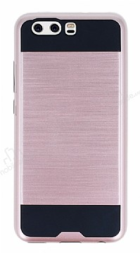 Eiroo Iron Shield Huawei P10 Ultra Koruma Rose Gold Kılıf