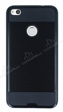 Eiroo Iron Shield Huawei P9 Lite 2017 Ultra Koruma Siyah Kılıf